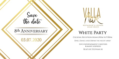 8th Anniversary White Party  tickets