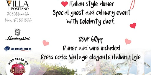 Italian style dinner & cooking class with celebrity chef at Villa Positano