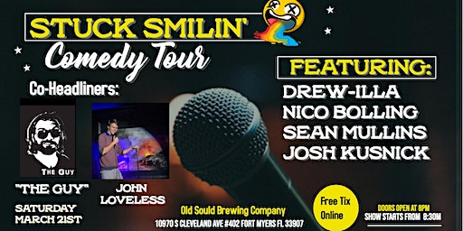 "Comedy Night with ""Stuck Smilin' Tour"" at Old Soul Brewing Company"