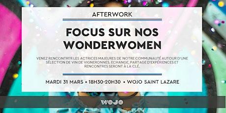 Afterwork - Focus sur nos Wonderwomen billets