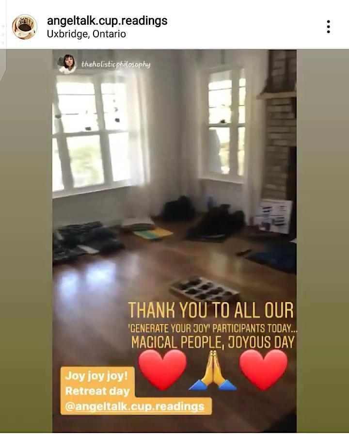 1-day Generate Your Joy Meditation Retreat ~ Lakeside Edition -Uxbridge, ON image