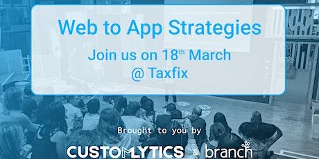 15. Web to App Marketing Strategies Tickets