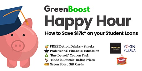 Detroit Student Loan Happy Hour tickets