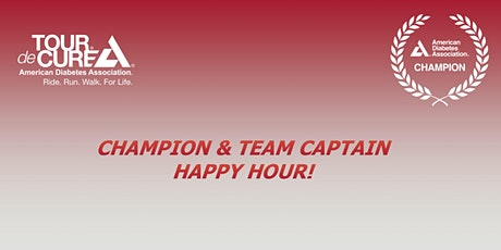 March Champions & Team Captain Happy Hour tickets
