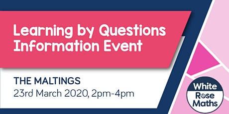 **FREE** Learning By Questions - Information Event (Halifax) tickets