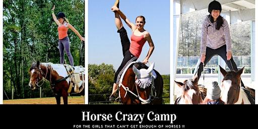 Overnight Horse Crazy Camp at Pony Gang Farm June 21 - June 27, 2020