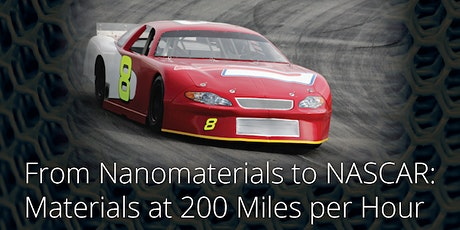 Public Lecture: From Nanomaterials to Nascar tickets