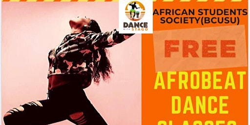 Afrobeats on Campus (Dance Class)