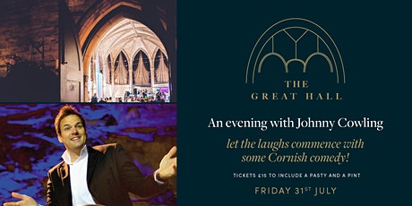 An Evening with Johnny Cowling at The Great Hall tickets