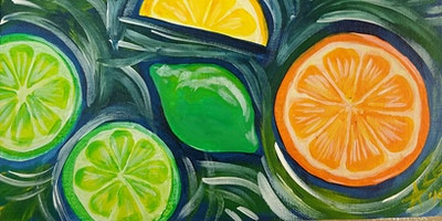 BYOB Citrus on Canvas at Flow