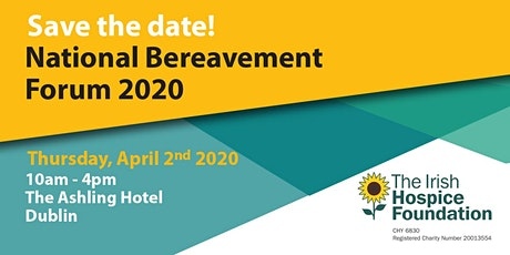 National Bereavement Forum 2020 tickets