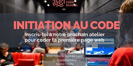 Wild Atelier : Initiation au code ! billets