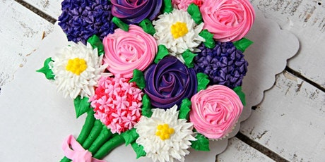 Mother's Day Cupcake Bouquet Workshop tickets