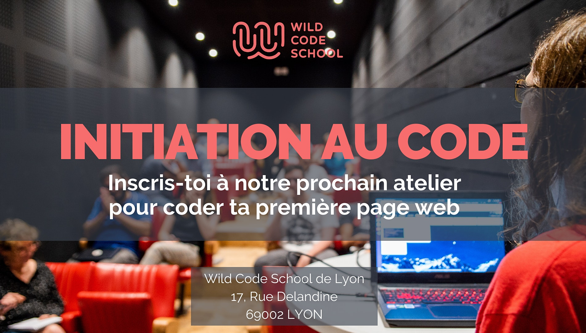 Wild Atelier : Initiation au code !
