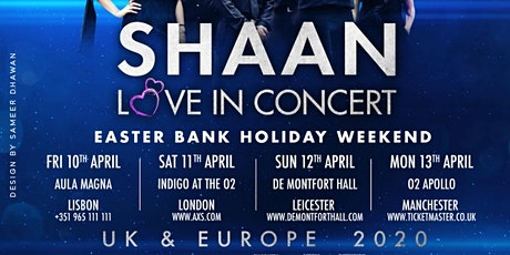 Shaan Love in Concert bilhetes
