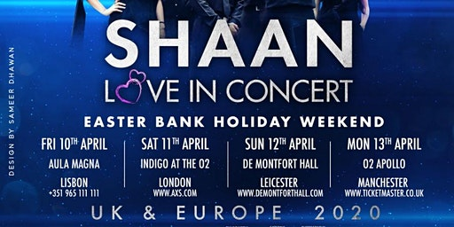 Shaan Love in Concert