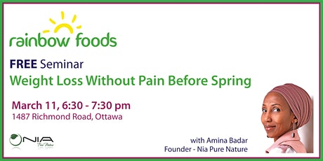 Free Seminar: Weight Loss Without Pain Before Spring tickets