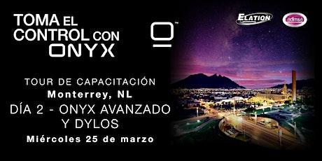 Capacitación Día 2 - ONYX Avanzado y DYLOS entradas