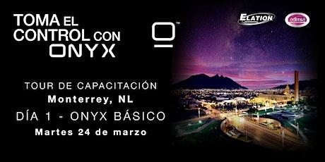 Capacitación Día 1 - ONYX Básico entradas