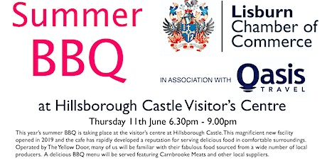 Chamber Summer BBQ @ Hillsborough Castle Visitor's Centre tickets