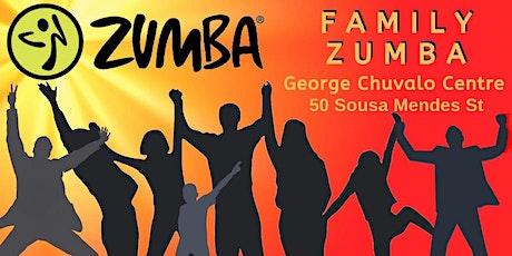Family Zumba - $12 drop in @ G. Chuvalo Centre tickets