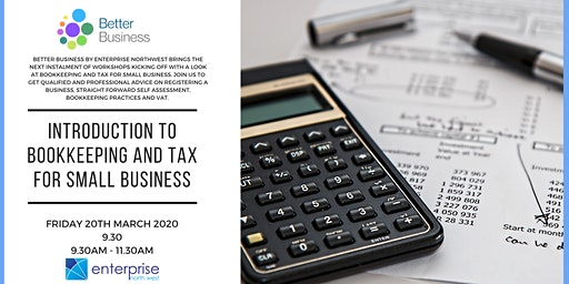 Introduction to Bookkeeping & Tax for Small Business