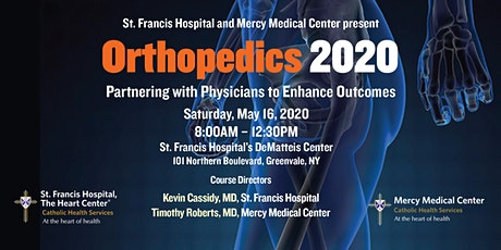ORTHOPEDICS 2020: Partnering with Physicians to Enhance Outcomes tickets
