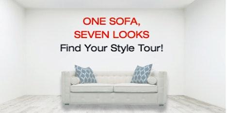 One Sofa -  Seven Looks