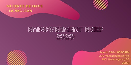 D.C. /McLean MdH Board - Empowerment Brief 2020