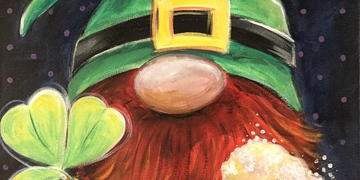 Leprechaun Gnome Painting