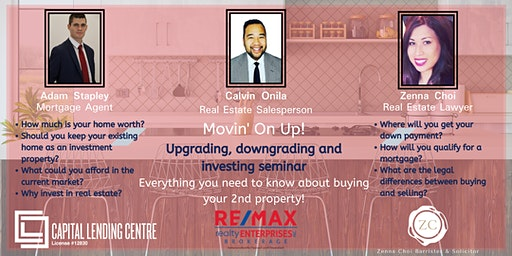 Movin' on Up: Upgrading, downgrading and property investment seminar