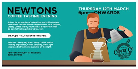 Newtons Coffee Tasting Evening tickets