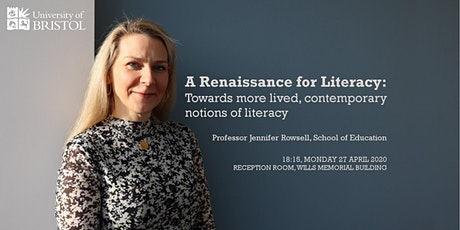 POSTPONED - Inaugural Lecture - Professor Jennifer Rowsell tickets