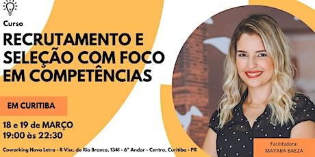 Curso R&S por competências em Curitiba ingressos