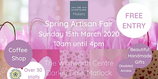 The Derbyshire Makers Spring Artisan Fair