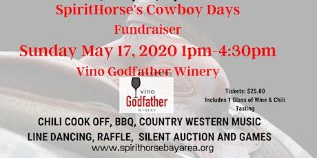 SpiritHorse's Cowboy Days - Fundraiser tickets