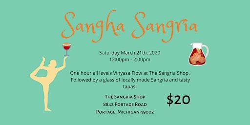 Sangha Sangria Yoga Event