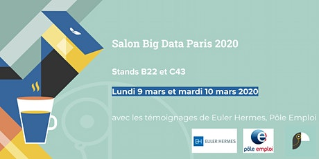 Toucan Toco au Salon Big Data 2020 billets