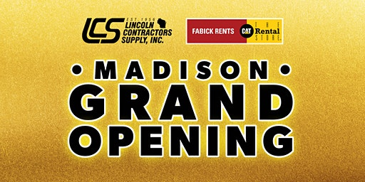 GRAND OPENING SHOW - LCS Madison Location!