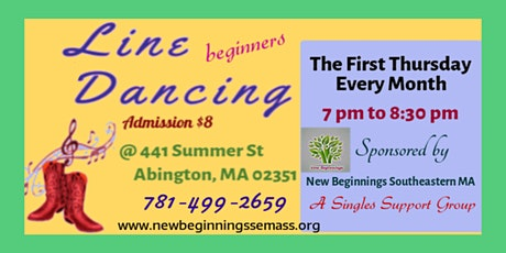 Beginners Line Dancing-Country/Western Dance Basics tickets