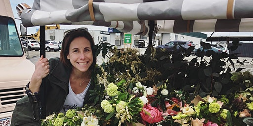 """The """"Slow Flower Movement"""", A Talk By Suzanne of Bella Flower Truck"""