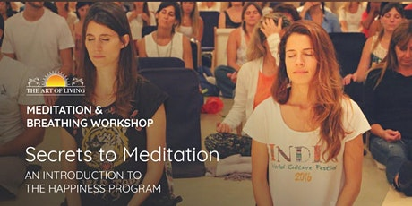 Secrets to Meditation in Lansdowne: An Introduction to Happiness Program tickets