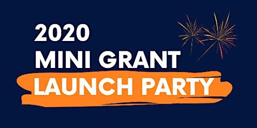 Healthier Neighbors 2020 Mini Grant Launch Party