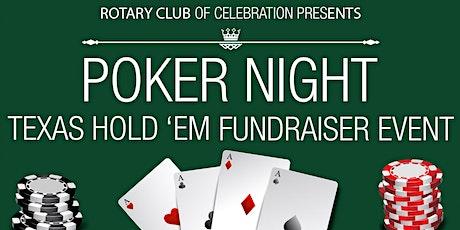 Rotary Club of Celebration Texas Hold'Em Poker Tournament tickets