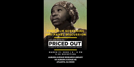 Film Screening and Panel Discussion - Priced Out tickets