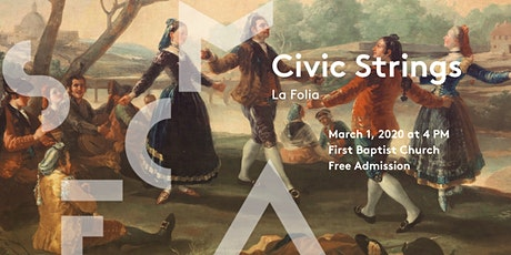 Civic Strings - La Folia tickets
