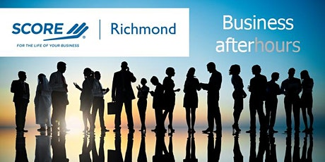 SCORE Richmond Business After Hours networking July 2020 tickets