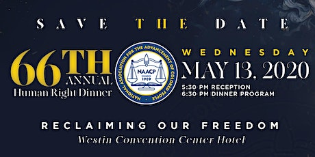 66th Annual Human Rights Dinner tickets