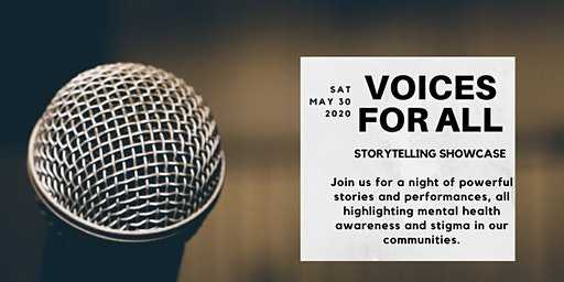 Voices For All: Storytelling Showcase