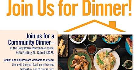 Free Family Dinner tickets
